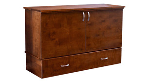 SOLID WOOD - CANADIAN MADE CABINET BEDS