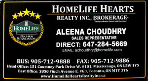BUY, SELL, RENT OR LEASE GTA- CALL NOW!