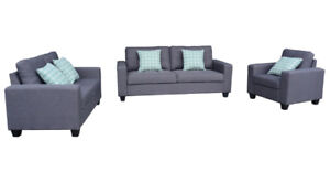 WAREHOUSE CLEARANCE SOFA WITH PILLOWS