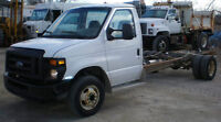 2008 FORD E450 Cab & Chassis( Ex- cubevan), diesel 16 ft