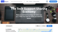 TechShare - The Tech Support Sharing Economy