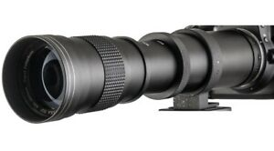 Opteka 420-800mm Telephoto - Mirrorless m4/3 Panasonic & Olympus
