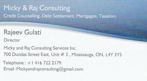 Credit Counselling-Debt Settlement