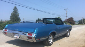1971 CUTLASS SUPREME CONVERTIBLE