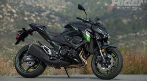 Kawasaki Z800 2016 eith 650km and SHOEI GT-Air Large matte blk