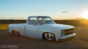 1981 chev shortbox custom truck