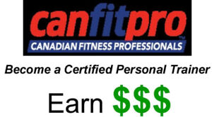 canfitpro PERSONAL TRAINER Certification Sept 5th (w BONUS
