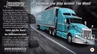 Rosenau Transport Edmonton - (Trailer Shunt Driver Required)