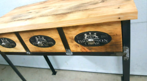 Meuble 3 tiroirs industriel neuf