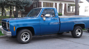 1978 C Series Customer Deluxe Chevy Pickup for sale