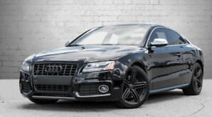 2011 AUDI S5, Black, 4.2L, Sunroof, Leather, 87kms!