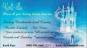 House cleaner for northumberland county and surrounding area Peterborough Peterborough Area image 1