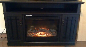 MasterFlame Electric Fireplace/Entertainment Centre