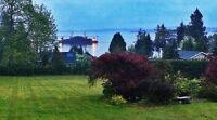 Beautiful ocean view suite with private deck..in Ladysmith..