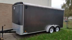 Enclosed Cargo Trailer 7 x 16