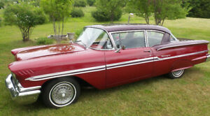 1958 Chev Biscayne 2-door coupe