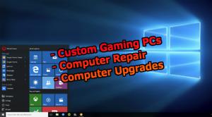 Custom Gaming PC Builds, Desktop/Laptop PC Repair, Consulting