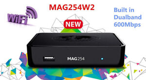 MAG 254 W2  Set Top Box w/600 Mbps Built in Wifi