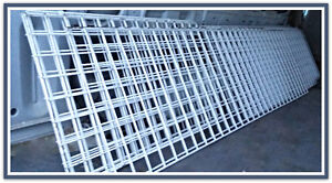 Gridwall White wire panels