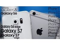 CASH for used Apple and Samsung Galaxy Smartphones. iPhone 5 and Above. Galaxy S5 and Above