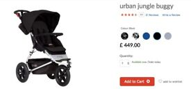 Unused Mountain Buggy Urban Jungle in Black! - Brand new!