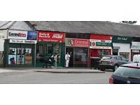SHOP TO LET £140 pcw . Former Post office on smithycroft road, riddrie