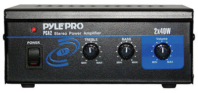 Pyle PCA2 Mini Computer Stereo Power Amplifier