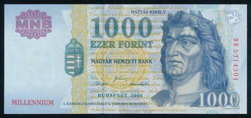 Hungary 1000 forint 2000 Millennium UNC