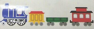 Mrs Grossman`s Stickers TRAIN Caboose  1983 Vintage (Train Stickers)
