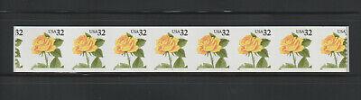 US EFO, ERROR Stamps: #3054 Rose Flower. PS8, #1111 PNC Die cut shift!! MNH