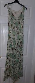Ladies dress size 10/12 - Green Fleck