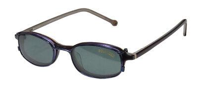 NEW SMARTCLIP 913 SLEEK EYEGLASS FRAME/GLASSES POLARIZED SUNGLASS CLIP-ON (Clip Glass Frames)