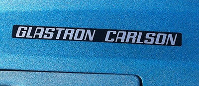 Glastron Carlson Boat Emblems Used On Cvx 20 Engine Cover And Other Models