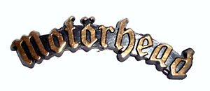 MOTORHEAD VINTAGE BADGE 1980's ORIGINAL COLLECTORS ITEM