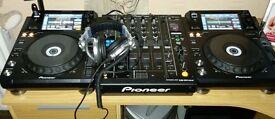 Pioneer DJM 900 Nexus and 2 x Pioneer XDJ 1000 Decks