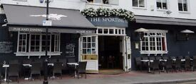 Full time bar / floor team member required for busy Chelsea local.