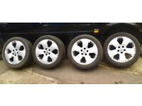 Vauxhall Vectra 17 Inch Alloy Wheels