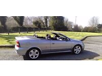 * * *FOR SALE OR SWAP * * *2004 VAUXHALL ASTRA Convertible 10MTHS MOT EXCELLENT CONDITION