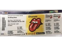 Rolling Stones concert Lucca Italy 23.09.17 - Prato A Gold - one ticket for sale