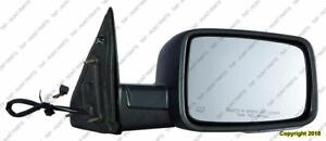 Door Mirror Power Passenger Side Heated Signal Puddle Lamp Ptm Dodge Ram 2009-2010