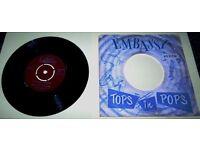 VERY RARE 45 rpm EMBASSY RECORD