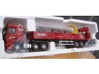 Corgi CC13235, DAF XF crane trailer & palletised load Marshalls, 1:50