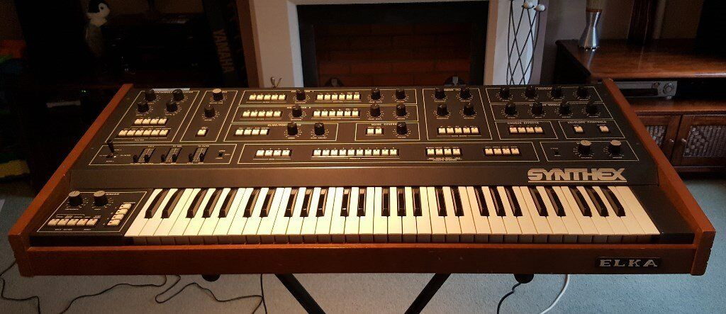 Elka Synthex - Very Rare Vintage Synthesizer