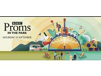 Proms at Titanic Slipways - 2 Tickets if possible