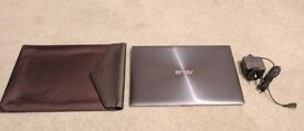 Asus UX31E Laptop - i7 - 4GB RAM- 128GB SSD + Carry Case - Excellent Condition