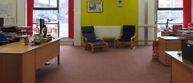 Modern office space / workspace available for short term hire in Bristol