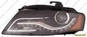 Head Light Passenger Side Xenon Without Curve [From 6/21/2010 To 2011] High Quality Audi A4