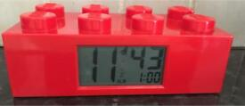 Genuine LEGO alarm clock - very good condition