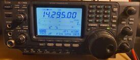 IC -746 (100W) HF / 50Mhz / 144 Mhz