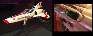 COLONIAL VIPER MK EFFEKT LED BELEUCHTUNG DIY Set BSG BATTLESTAR GALACTICA